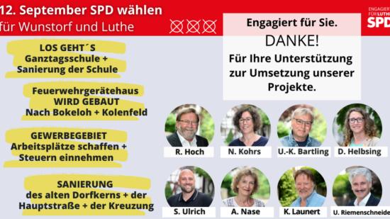 Klarstellung CDU Flyer - Wahlprogramm